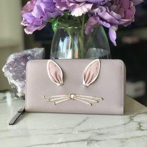NWT kate spade new york rabbit neda wallet✨